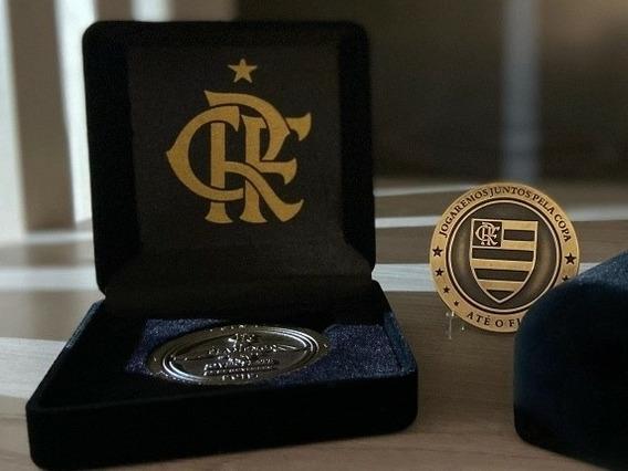 Moeda Medalha (sem Estojo) Flamengo X River Plate