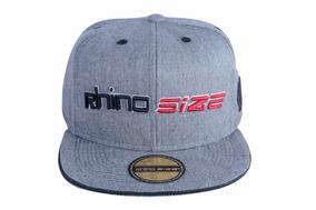 Boné Aba Reta Snapback Rhino Size Chumbo 2