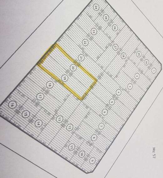 Dos (2) Terrenos De 10 X 44 Cada Uno (total 880 Mts2)