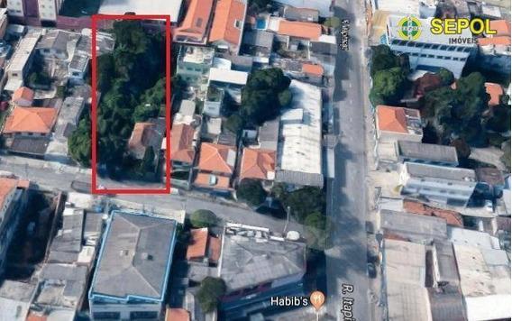 Terreno À Venda, 1000 M² Por R$ 1.550.000 - Vila Carmosina - São Paulo/sp - Te0099