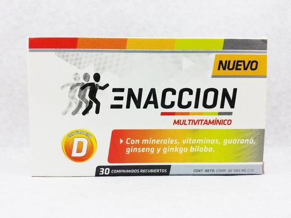Enacción Multivitamínico Ena X 30 Comprimidos