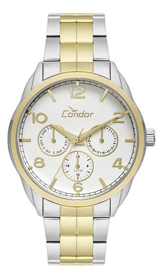 Relógio Condor Feminino Calendário Misto Co6p29ig/5k