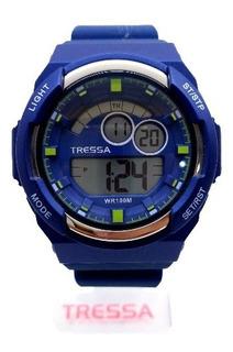 Reloj Tressa Hombre Digital Sumergible 100m Tienda Oficial