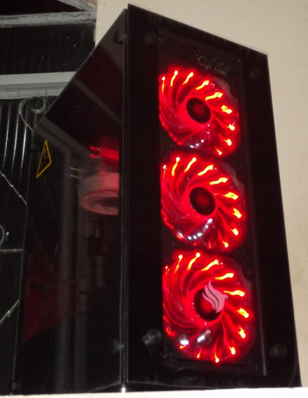 Pc Gamer I5 3470+ Rx 570 4gb + 8gb + 500 Gb Top Ultima Peça!