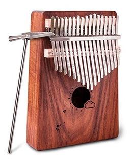 Kalimba 17 Llaves Tumb Piano 17 Tono De Dedo Piano Instrumen