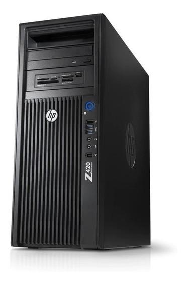 Workstation Hp Z420 Xeon - 16gb Ram -1 Tera + Ssd256 K4000