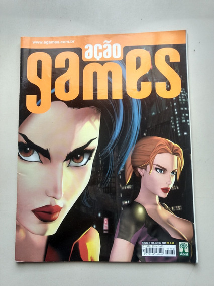 Revista Açao Games 162 Fear Effect Gta 3 The Sims Nba Y296