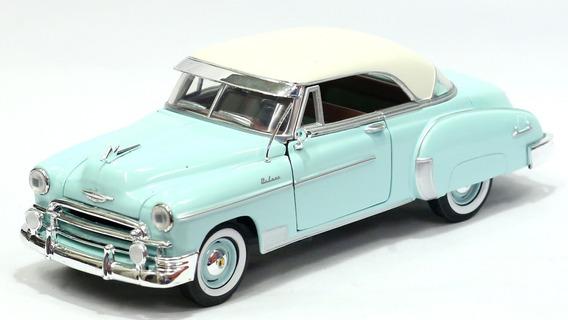 Miniatura Chevrolet Bel Air 1950 Metal Escala 1:24