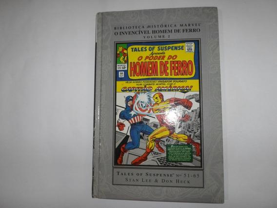 Biblioteca Histórica Marvel O Invencível Homem De Ferro 2