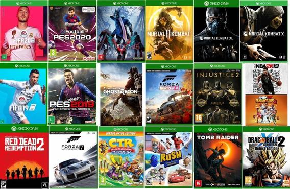 Pacote 2 Jogos Xbox One Mídia Digital Offline