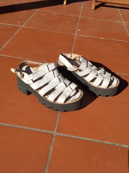 Sandalias Con Plataforma - T36