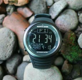 Relógio Altímetro Barômetro Termômetro North Edge 50m Novo