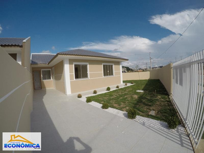 Casa Para Venda Em Fazenda Rio Grande, Eucaliptos-greenfield, 3 Dormitórios, 1 Banheiro, 2 Vagas - 892