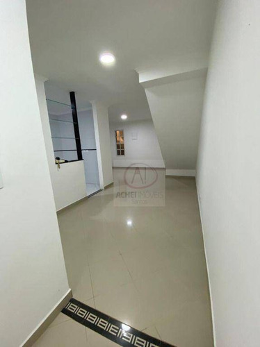 Casa Com 3 Dormitórios À Venda, 82 M² Por R$ 545.000,00 - Estuário - Santos/sp - Ca0764