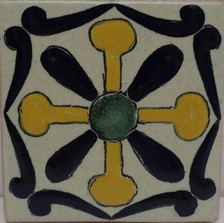 Azulejos Cerámicos Tipo Talavera Varios Diseños (90 Piezas)