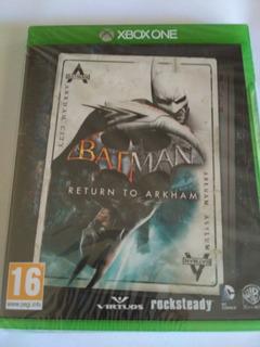 Batman Return To Arkham Xbox One Eu Nuevo Sellado Envio Grat