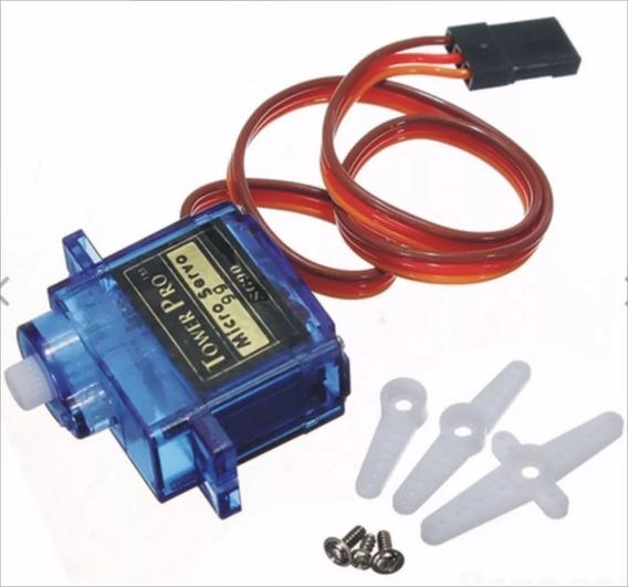 Servo Motor Micro 9g Tower Pro Sg90 Com Acessórios