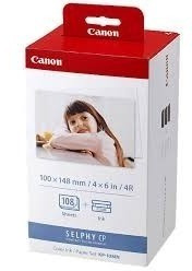 Kit Para Impressora Fotográfica Selphy Canon Papel E Tinta
