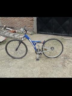 Bicicleta Doble Suspension Tomaselli