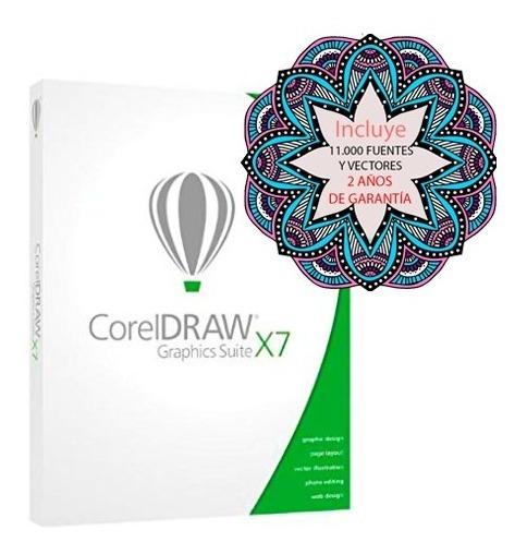 Corel Draw X7 Full- Envio Inmediato