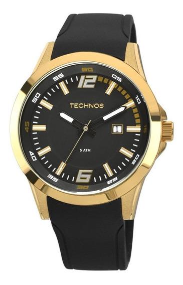 Relógio Masculino Dourado Technos 2115kpu/8p Performance.