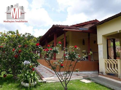Chácara Com 03 Dormitórios À Venda, 5500 M² Por R$ 450.000 - Zona Rural - Pinhalzinho/sp - Ch0222