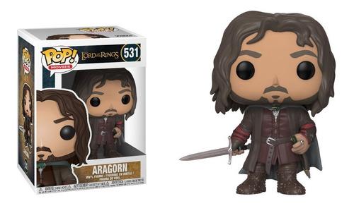 Funko Pop Aragorn #531 Señor De Los Anillos Jugueterialeon
