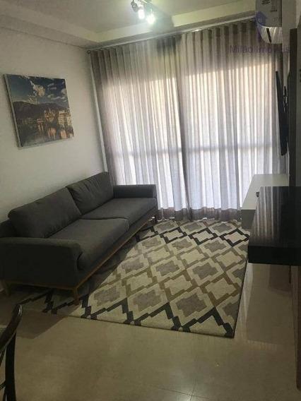 Apartamento Mobiliado 2 Dormitórios Para Locação, 66m², Villa Lobos, Pq. Campolim Em Sorocaba/sp - Ap1139