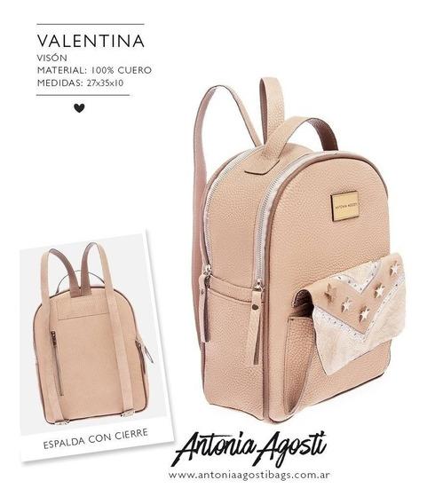 #valentina Mochila Antonia Agosti