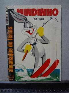 Hq Mindinho Nº 49 1958 Almanaque De Férias Pernalonga
