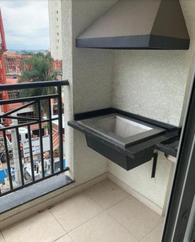 Apartamento 57,2 M², 2 Dorms (1 Suite), 1 Banheiro, Varanda, Churrasq. , Porte Grande - Guarulhos - Ai22785