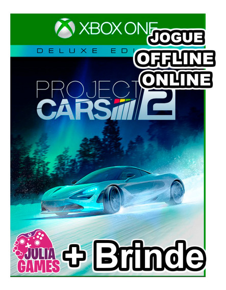 Project Cars 2 Deluxe Edition Xbox One Digital + Brinde