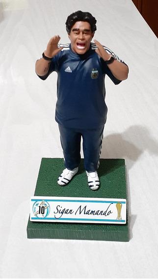 Figura Muñeco Diego Maradona Director Tec. Futbol Seleccion
