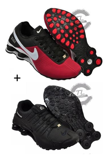 Tênis Nike Sxhox Nz Deliver Classic Junior 4 Molas Kit 2 Par