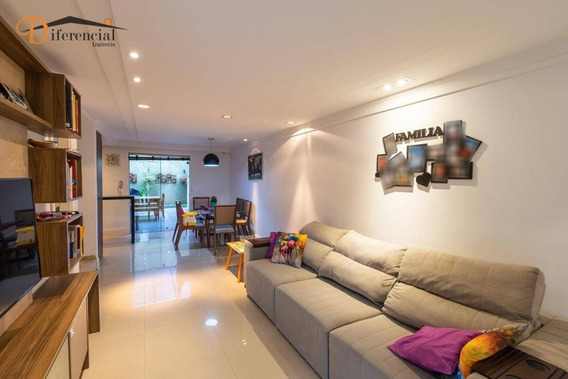 Casa Com 3 Dormitórios À Venda, 142 M² Por R$ 430.000,00 - Campo Comprido - Curitiba/pr - Ca0119
