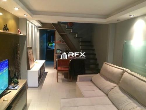 Casa Com 2 Dormitórios À Venda - Santa Rosa, Niterói/rj - Cav22096