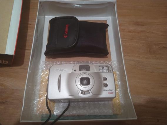 Câmera Fotográfica Canon Prima Quick Super (analógica)