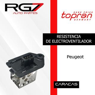 Resistencia Electroventilador Peugeot 206 207 307 Partner