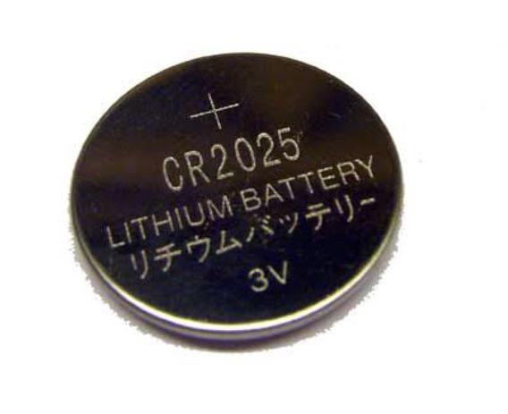 Lote 10 Un Bateria Cr2025 Lithium Uso Geral 3v Tipo Moeda
