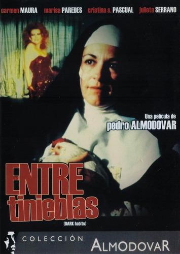 Imagen 1 de 3 de Entre Tinieblas Dark Habits Pedro Almodovar Pelicula Dvd