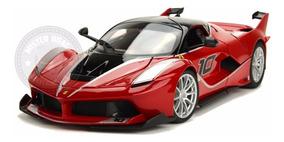 Miniatura Ferrari Racing Fxx K Vermelha Burago 1/18