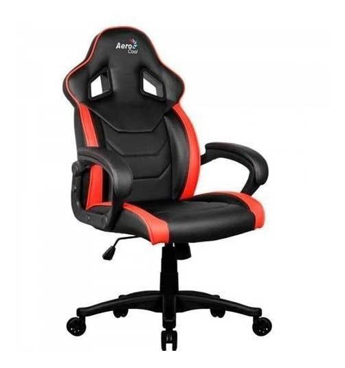 Cadeira Gamer Aerocool Ac60c Preta/vermelha
