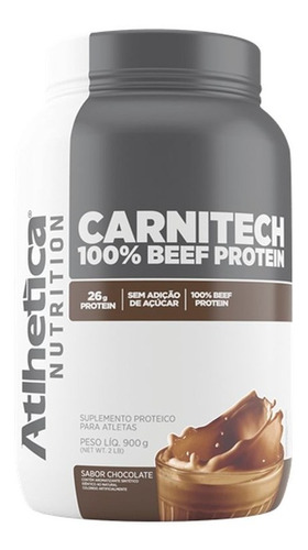 Carnitech Beef Protein 900g - Atlhetica