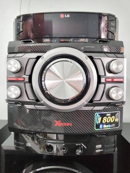 Mini System Som Lg Xboom -1800w Rms - Cm8440