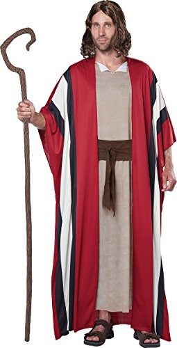Imagen 1 de 2 de Disfraz De California Para Hombre Traje De Moisés Shepherd