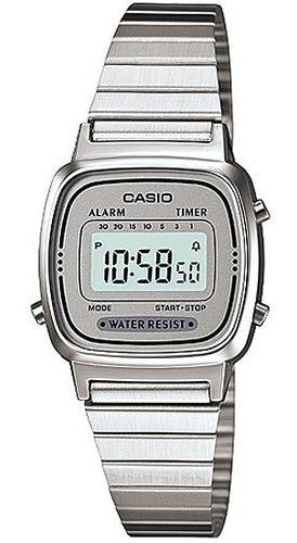 Relógio Casio Feminino Retro Vintage La670wa-7df Mini + Cx