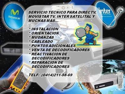 Técnico Directv Movistar Inter Reparación De Decodificadores