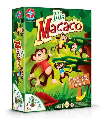 Imagem 1 de 3 de Clássico Jogo Infantil Pula Macaco Brinquedos Estrela