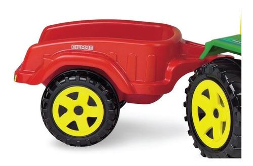 Carro Auto - Remolque Para Tractor Biemme -  Juegos Niños