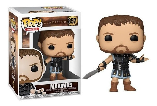 Funko Pop! Gladiador #587 -  Maximus - Original